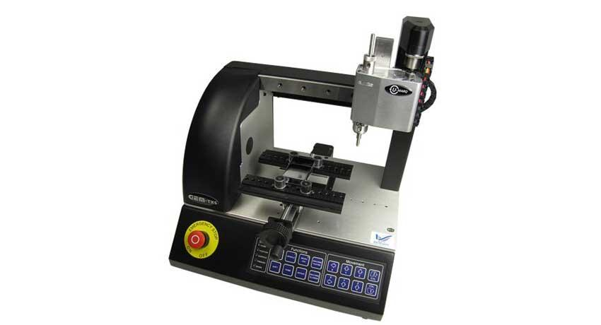 Engraving machine for tags GEM-TX5   PCube Srl
