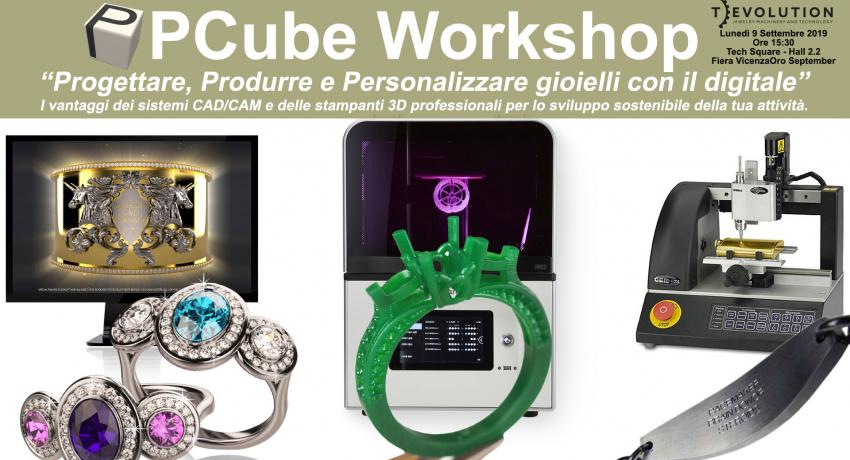 Workshop di PCube a VicenzaOro