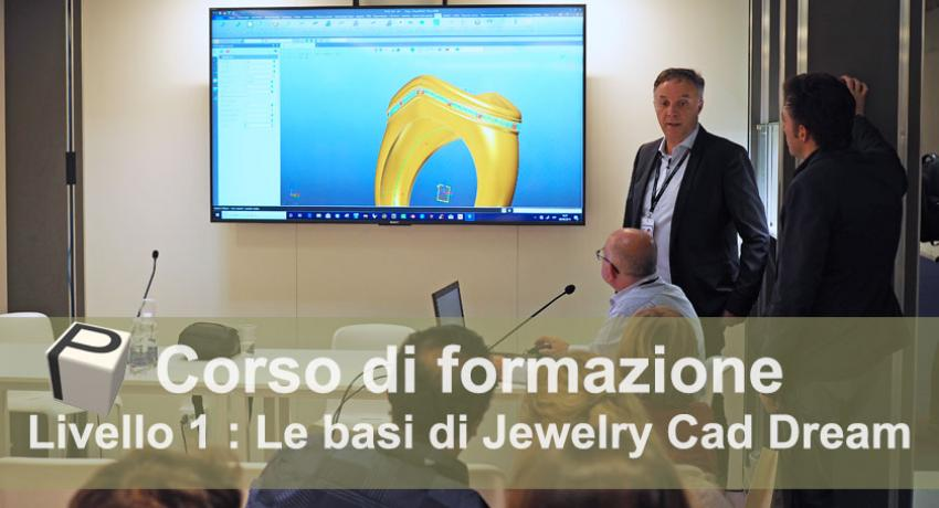Training Course 3D software Jewelry Cad Dream