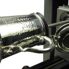 Engraving machine for thropies and gift