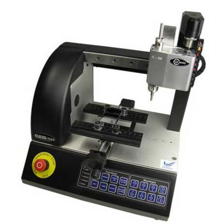 Compact engraving CNC machine